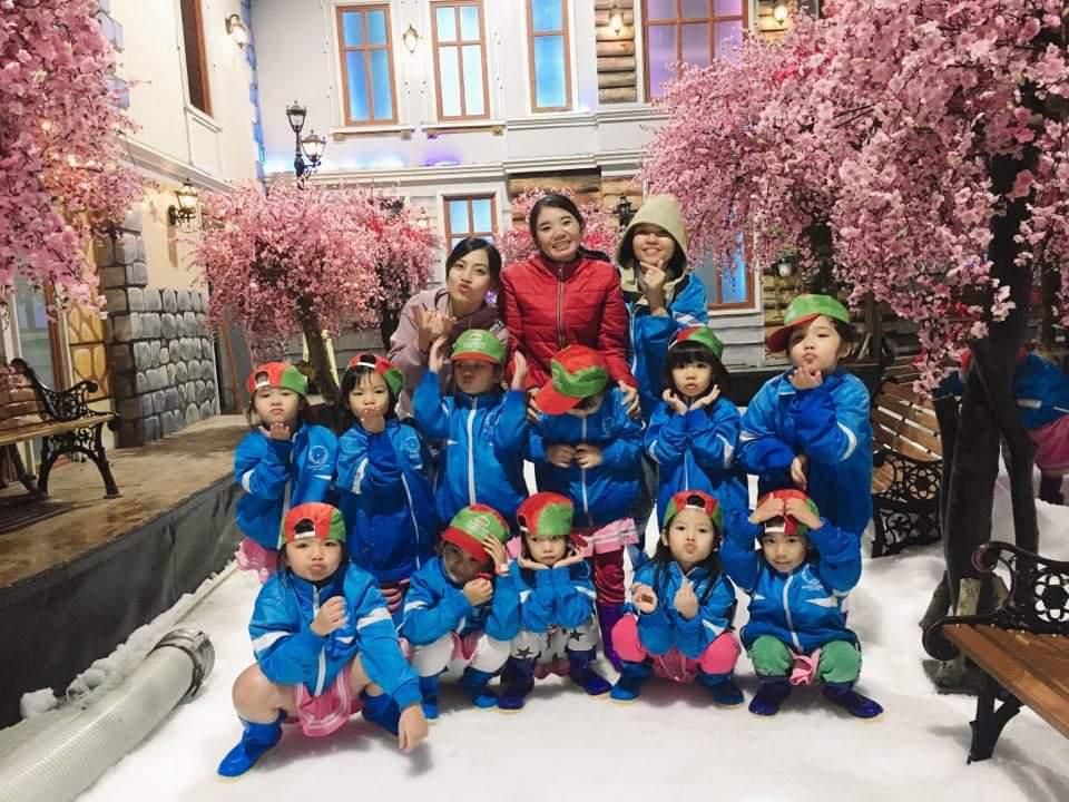 Phần IV: Hình ảnh lớp Lá 4 tại Khu Vui Chơi Giải Trí Snow Town Sài Gòn!