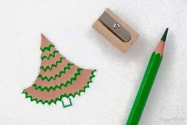 Sáng tạo với vụn bút chì